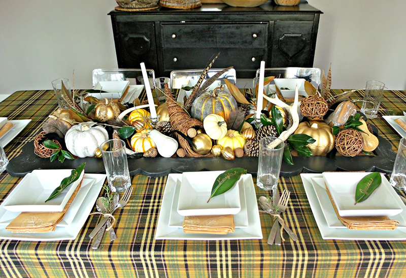 Thanksgiving Tablescape and Thankfulness