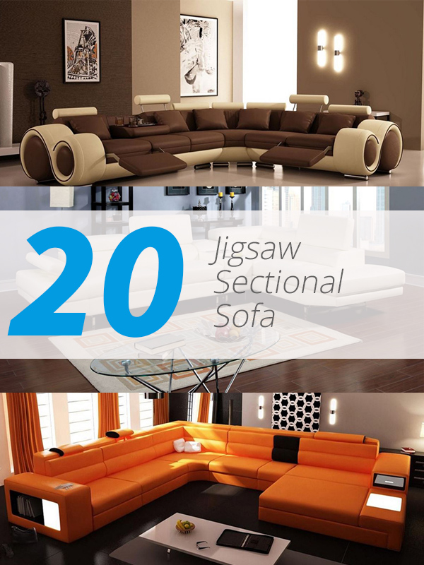 20 Jigsaw Sectional Sofa That Will Bring Comfort And Style In Your Home Home Design Lover