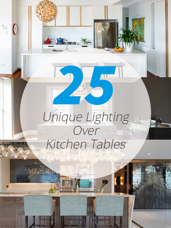 lightings over kitchen