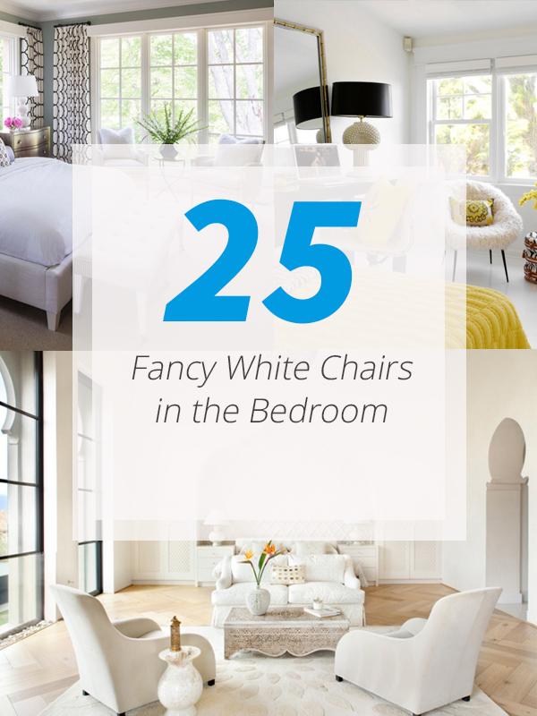 white chairs bedrooms