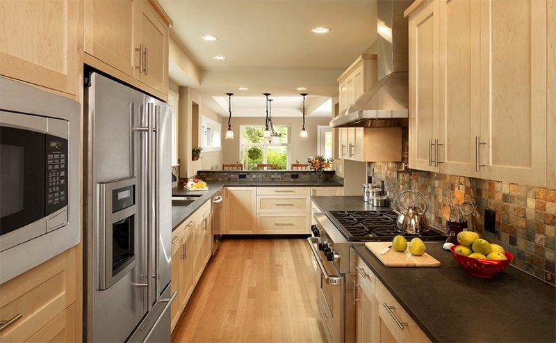 appealing light green shaker kitchen | 25 Minimalist Shaker Kitchen Cabinet Designs | Home Design ...