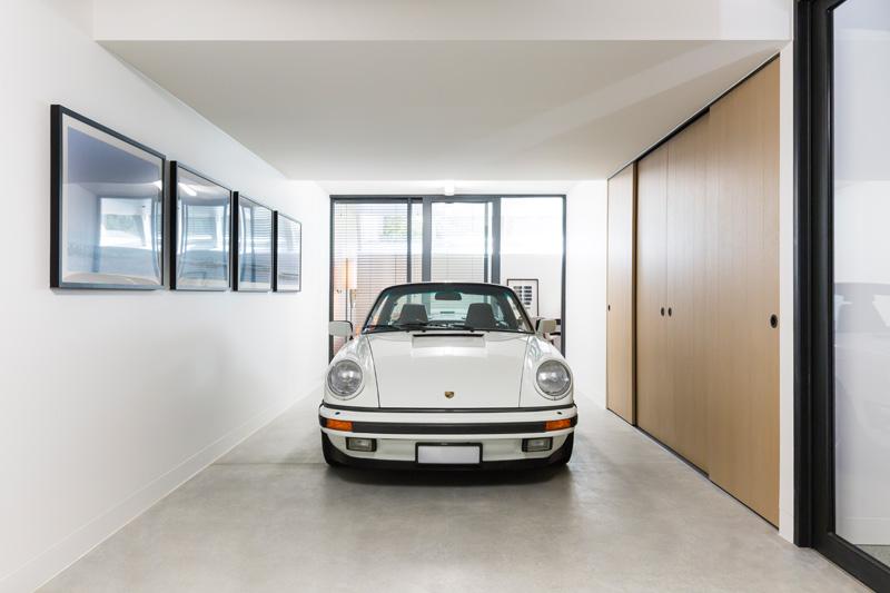 30 Esplanade garage wall