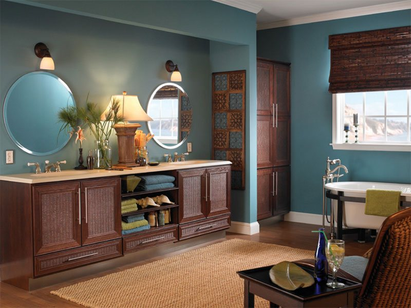 Bathroom Cabinetry - Tropical Bath