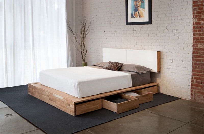 25 modern and contemporary bed storage ideas with drawers