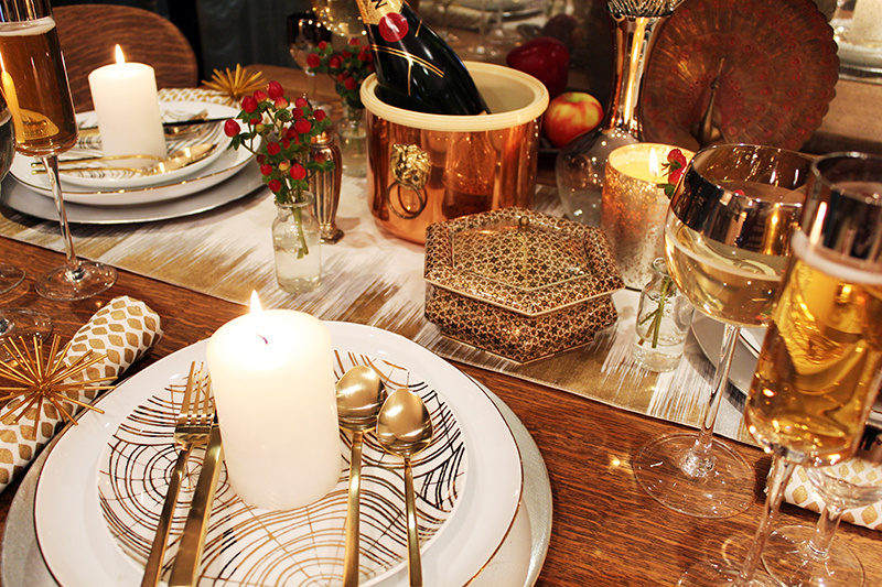 Aesthetically Speaking: New Year's Eve Tablescape