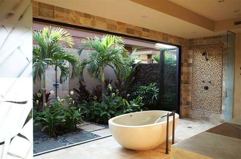Bathroom Zen Design Ideas 25 inviting tropical bathroom design ideas | home design lover