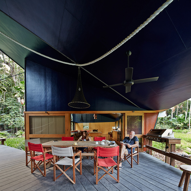 Cape Tribulation House outdoor