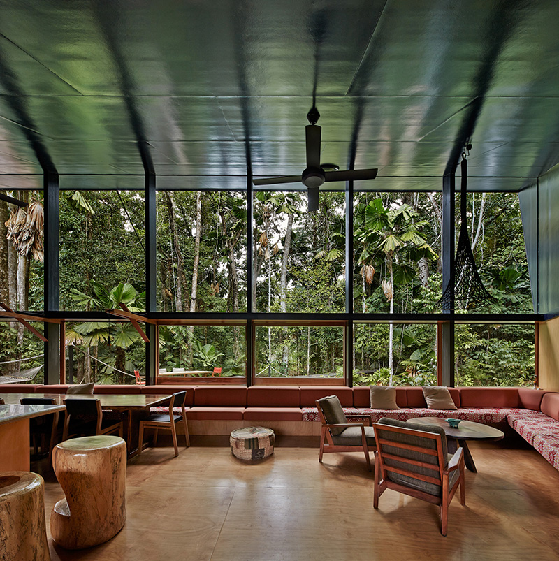 Cape Tribulation House interior