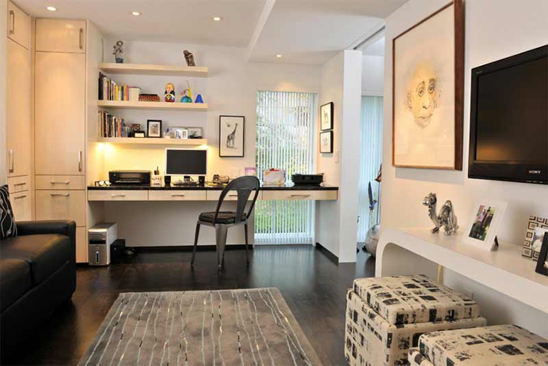 27 Astounding And Well Organized Condo Home Offices