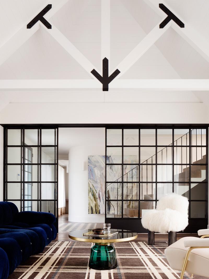 Balancing House doors