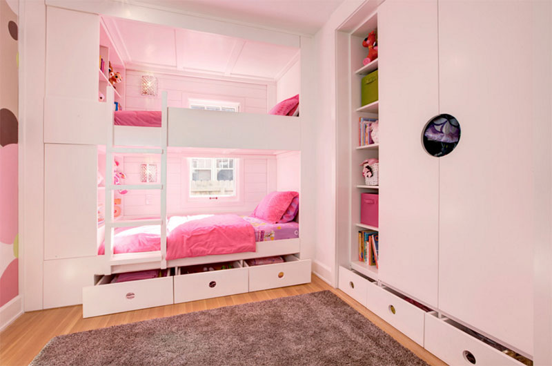 Kids' Custom Bunk Room