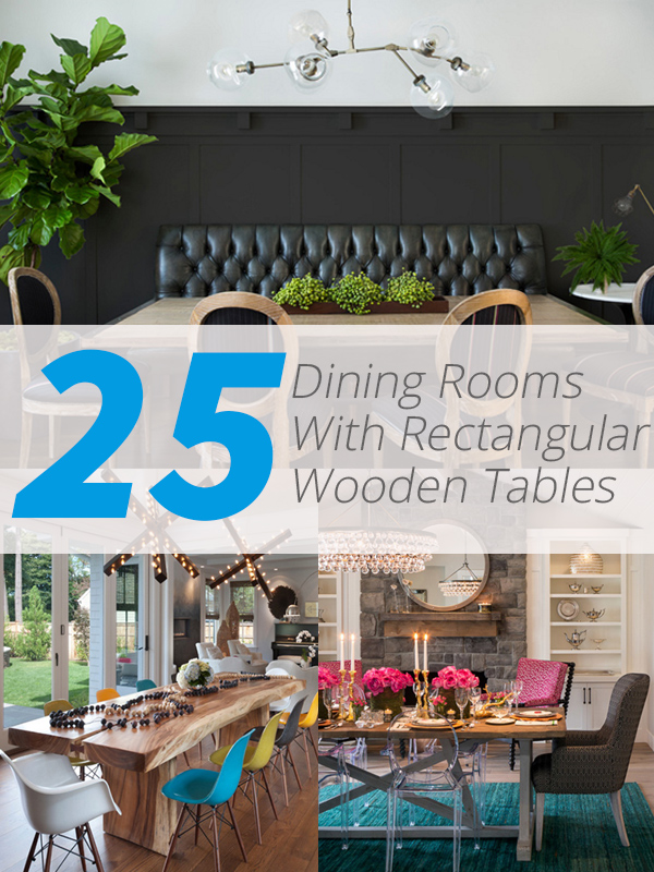 dining wooden tables