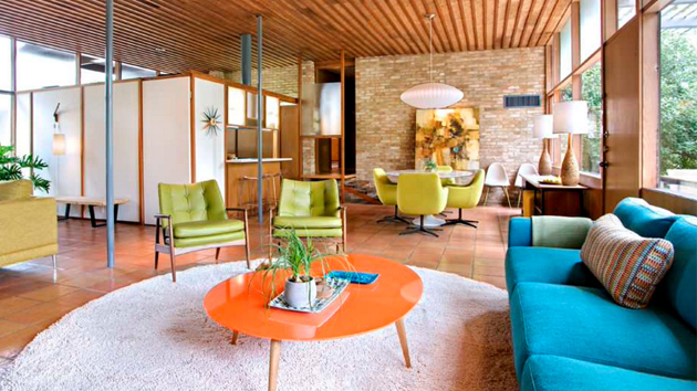 25 Bright Midcentury Modern Living Room Designs Home Design Lover