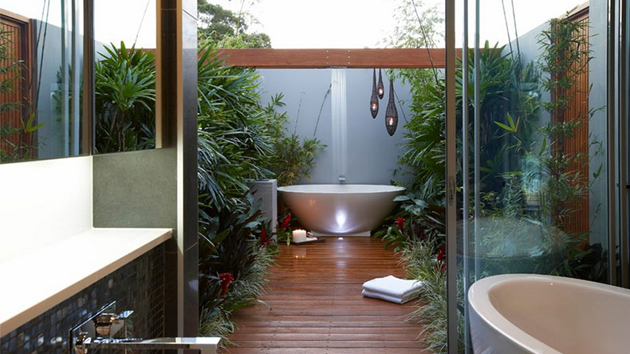 25 inviting tropical bathroom design ideas home design lover - Pictures of bathroom designs ...