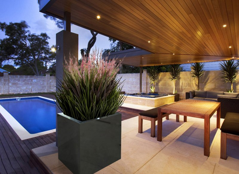 20 Gorgeous Planters By The Swimming Pool Home Design Lover