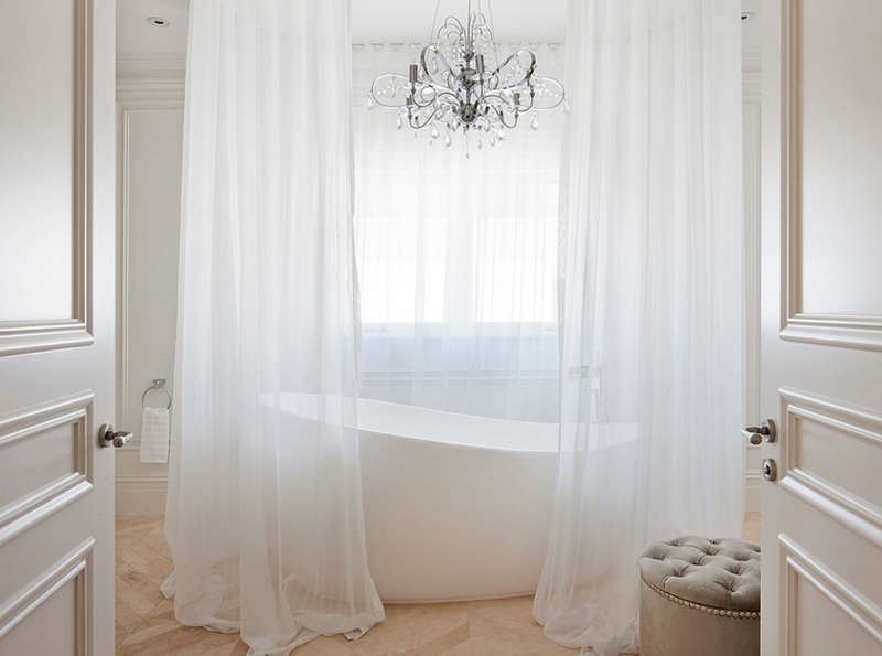 Gorgeous Bathroom 20 gorgeous bathroom crystal chandeliers | home design lover