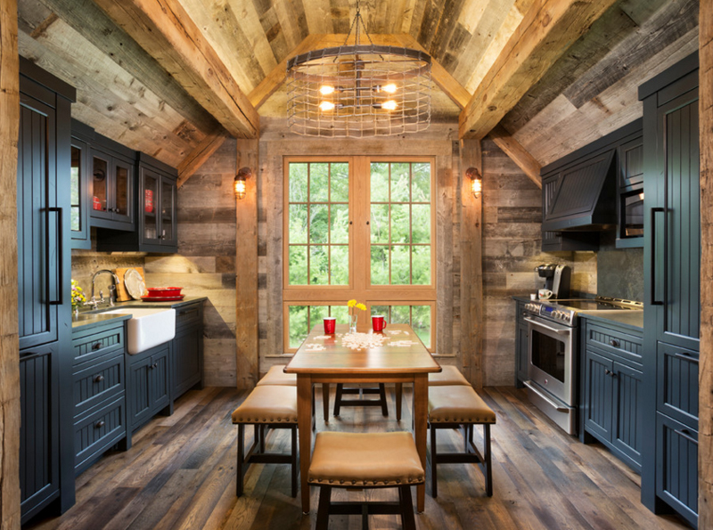 Reclaimed Ceiling kitchens