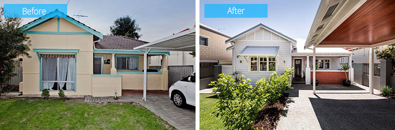 Before and After: From a 1940s Cottage to a Contemporary Residence ...