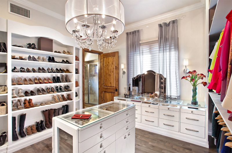 25 Contemporary Walk In Closets Every Woman Dreams To Own Home Design Lover