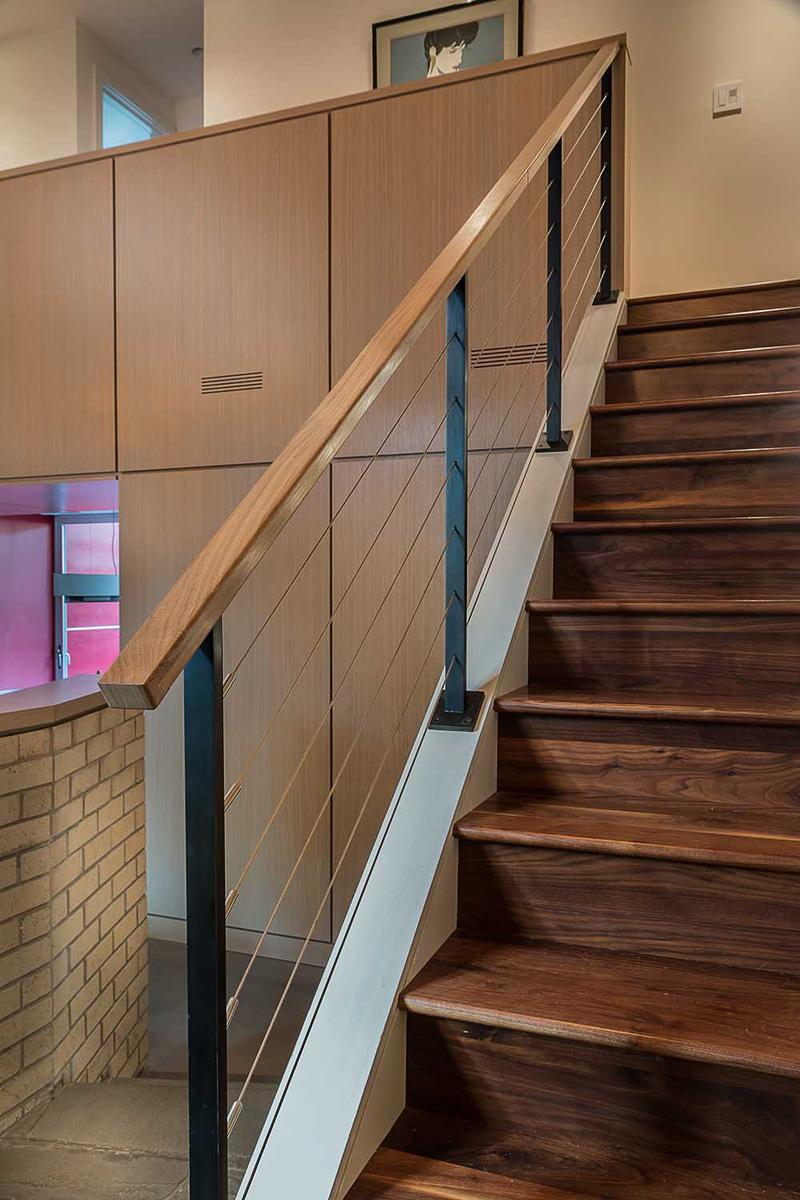 Renovation Illinois stairs