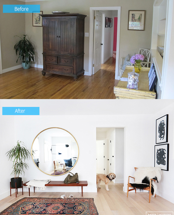 Before and After: Chic Interior of Client Freakin' Fabulous
