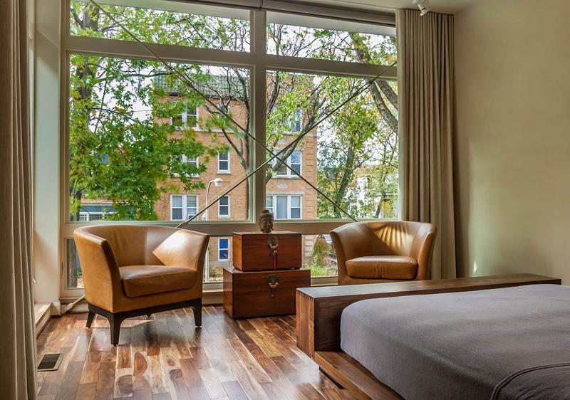 Renovation Illinois master bedroom
