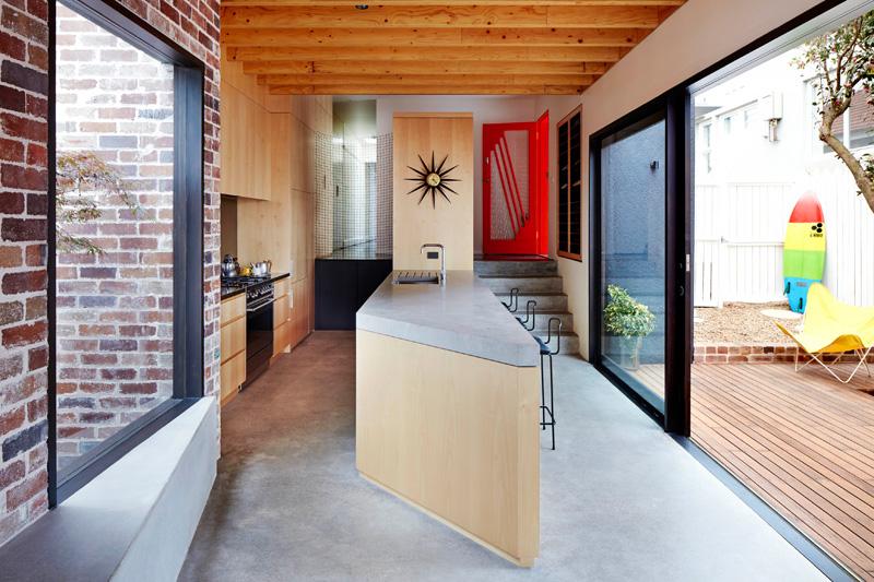 Maroubra House kitchen