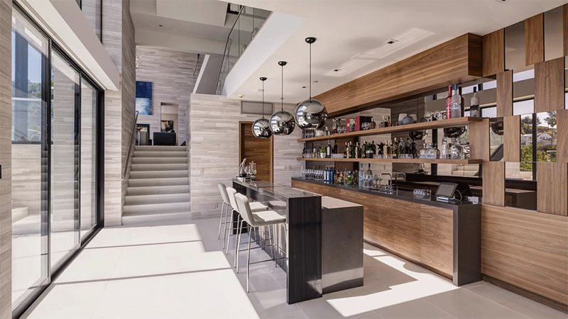 Hollywood Hills Home kitchen