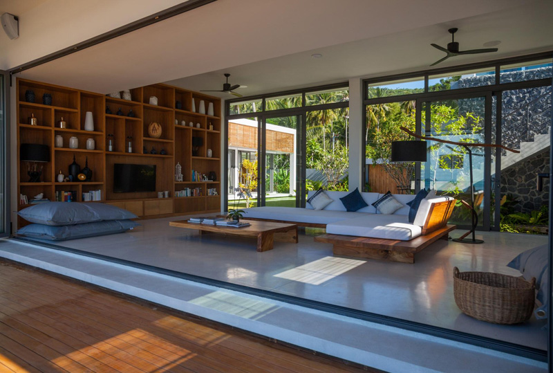 Malouna Villa interior