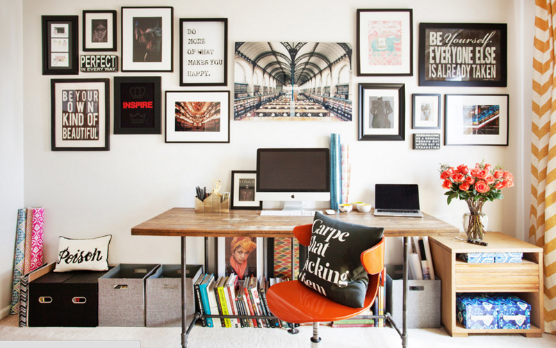 How to Freshen Up Your Home Office
