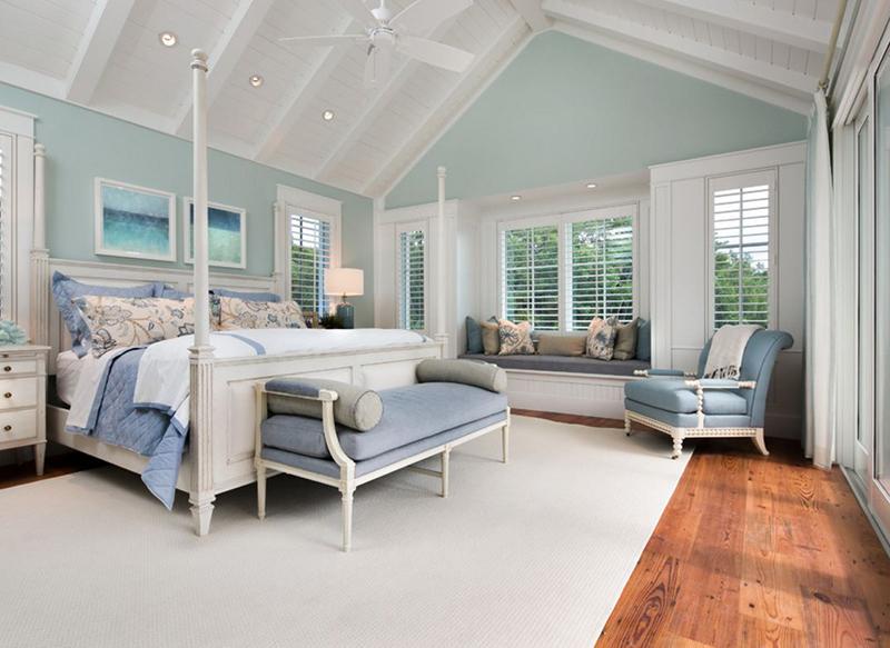 white tropical furniture