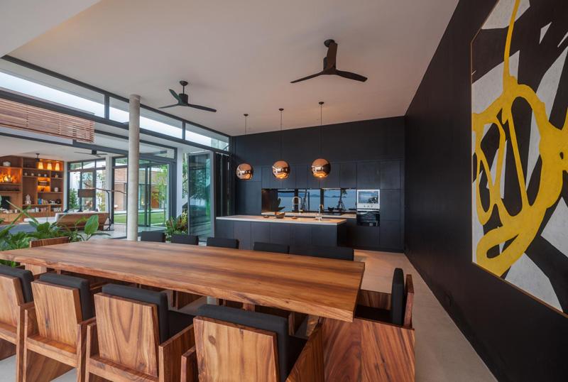 Malouna Villa kitchen
