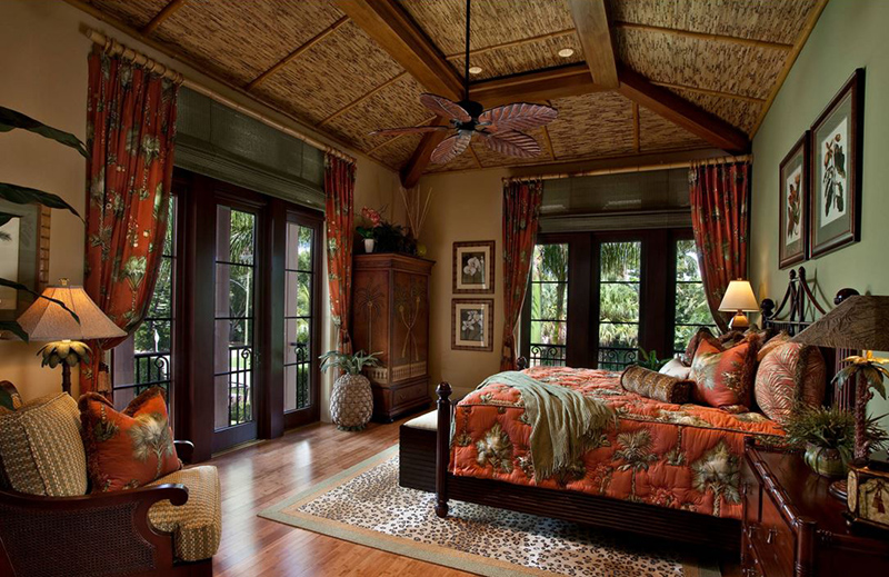 20 tropical bedroom furniture with exotic allure home design lover. Black Bedroom Furniture Sets. Home Design Ideas