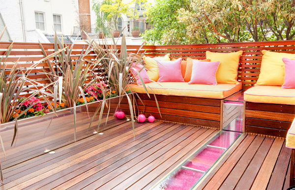 Summer Fun! 21 Relaxing Colorful Outdoor Spaces