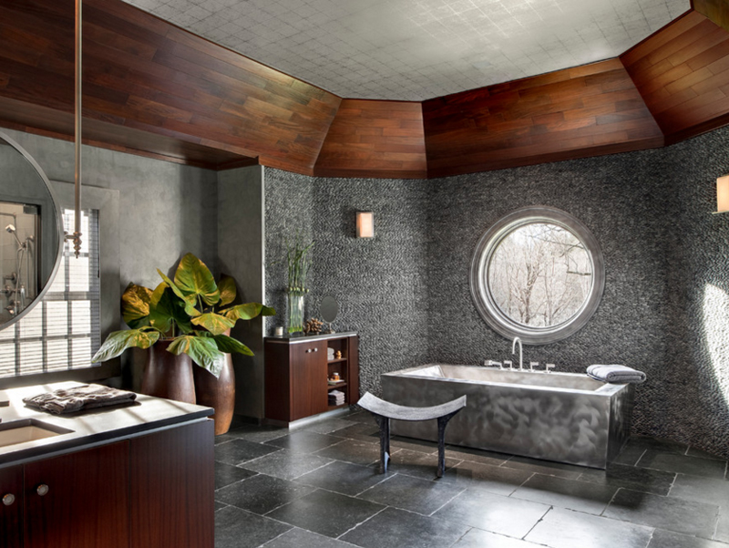 contemporary gem - Contemporary Bathrooms
