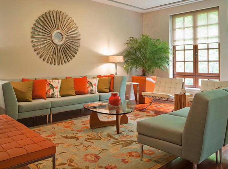orange planter