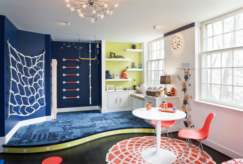 25 creative and unique playroom ideas for your kids home