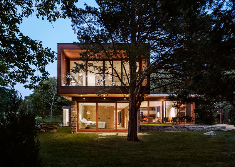 Stonington Residence A Contemporary Home Update With A