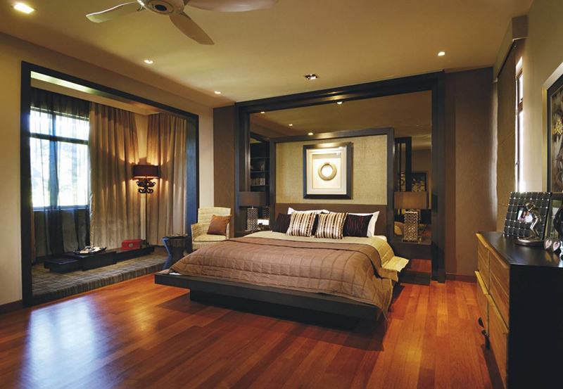 20 tropical bedroom furniture with exotic allure home for Tropical bedroom design