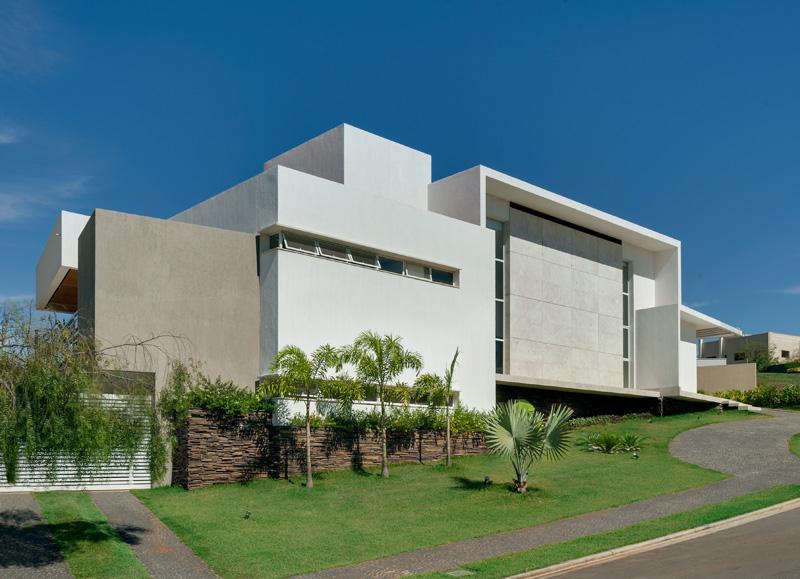 Brazil Hillside Home facade