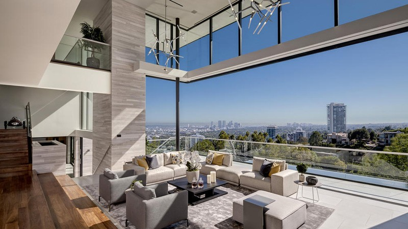 Hollywood Hills Home interior