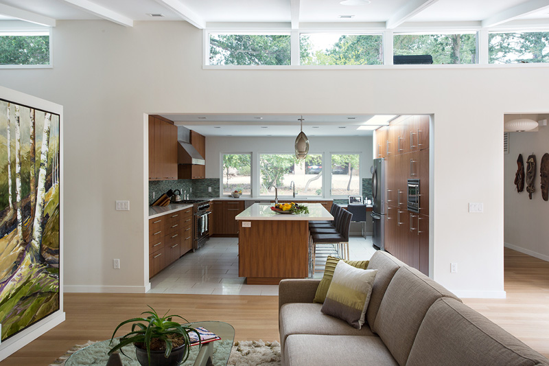 Midcentury Remodel kitchen