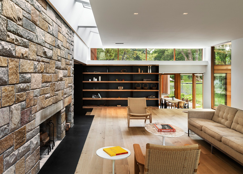Stonington Residence living area