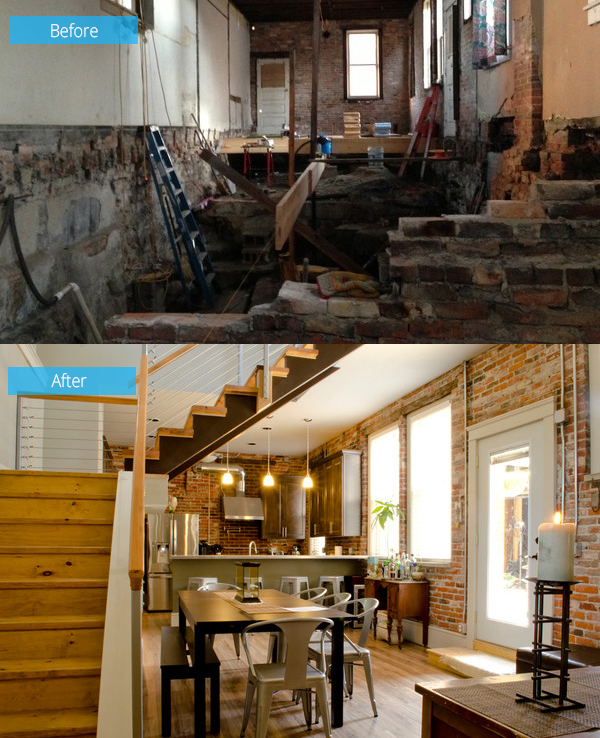 Before and After: Sandunsky Loft Gets a Beautiful Renovation