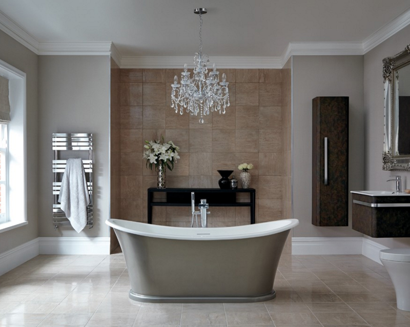 Modern Cabinet 10 Inspiring Modern And Luxury Bathrooms: 20 Gorgeous Bathroom Crystal Chandeliers