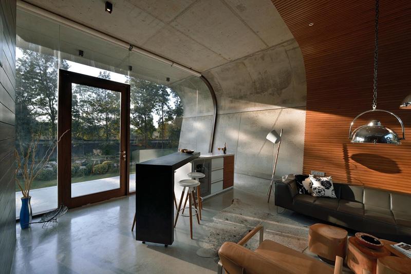 Pool House glass