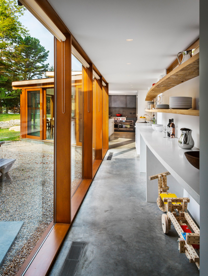 Stonington Residence walkway