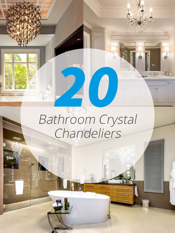 Bathroom Crystal chandeliers