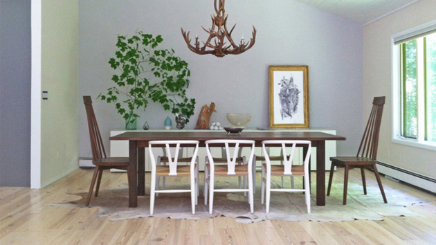 20 Dreamy Dining Rooms With Antler Chandeliers