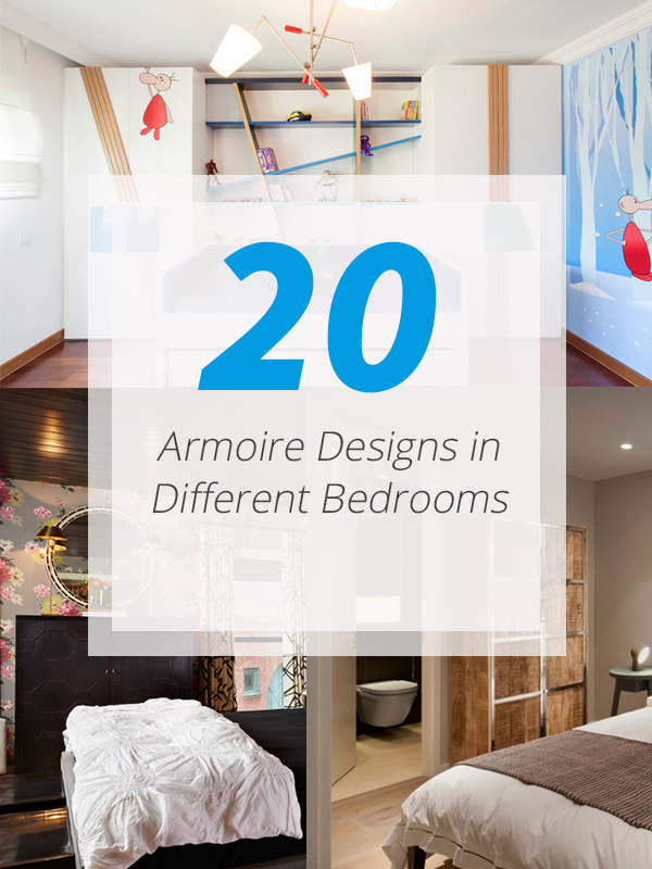 20 Armoire Designs In Different Bedrooms Home Design Lover